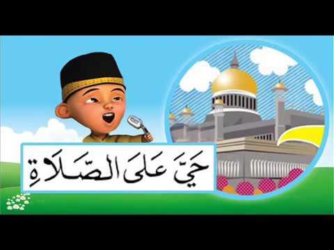 Adzan Merdu Versi Upin & Ipin   YouTube