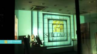 Estee Lauder 3D Projection Mapping / Digital Media Wall Thumbnail