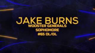 JAKE BURNS SOPHOMORE FOOTBALL HIGHLIGHTS | WOOSTER GENERALS