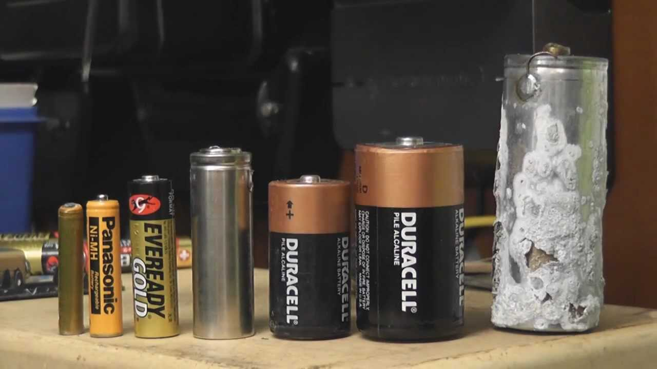 4½ Volts B-cell battery - YouTube