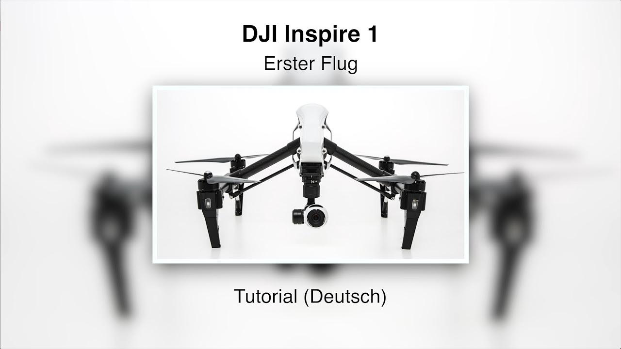 DJI Inspire 1 #08 – Erster Flug (Deutsch)