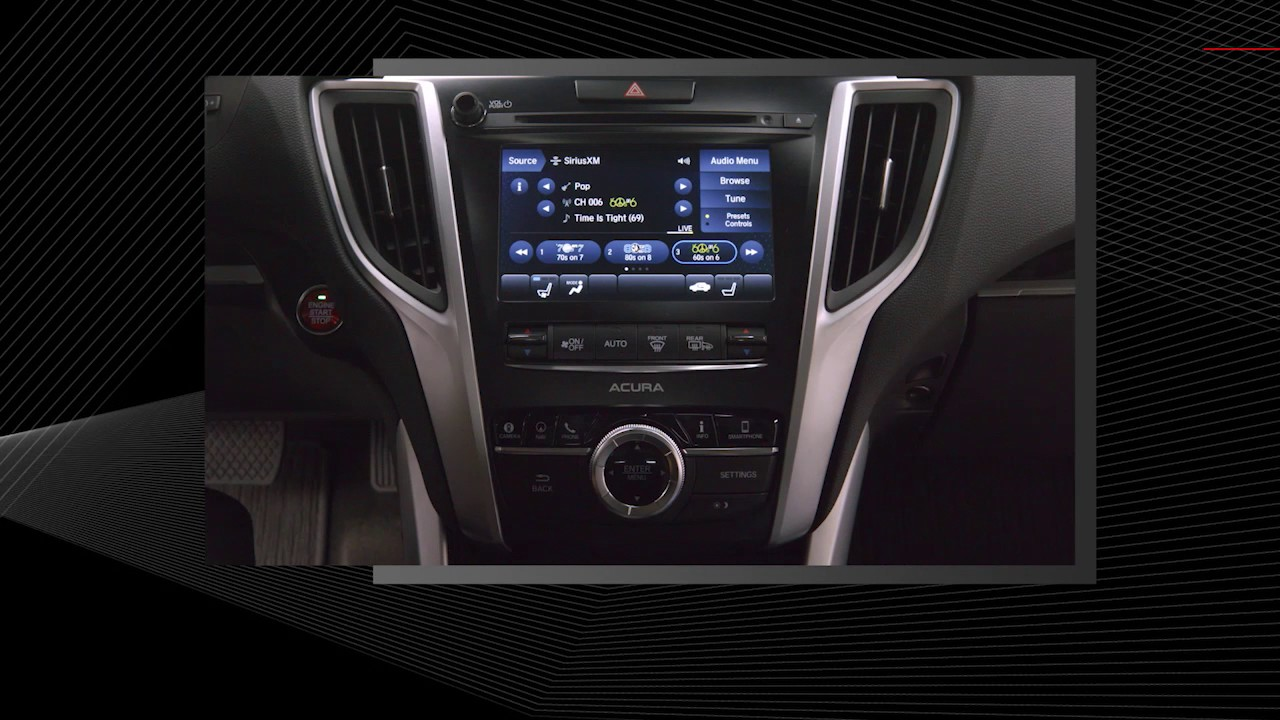 Acura - TLX - Sirius XM