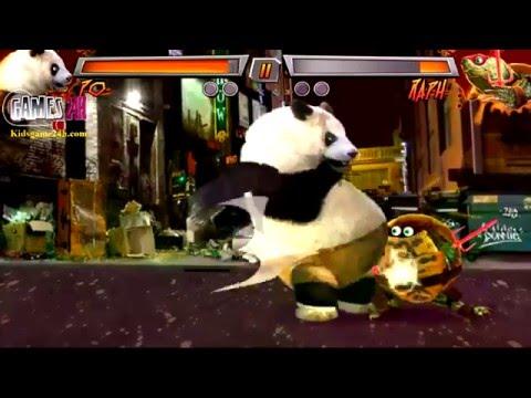 Super Brawl 3 Just Got Real - Arcade Gameplay complete - Kung Fu Panda 3