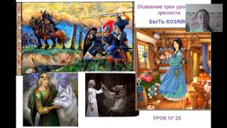 Урок №25. Освоение трех уровней зрелости: быть Хозяйкой (1-я часть)
