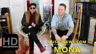Mona - Nick Brown and Jordan Young - interviewed by Music-News.com ...