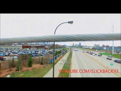 Martin Olav Sabo Bridge Minneapolis (POV)(4K)