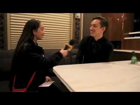 The XX interview Oliver Sim with Pavlina 2013 Orlando, FL