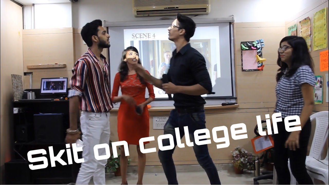 Skit On College Life Oxford Youtube