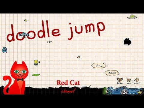 ДУДЛ ДЖАМП ИГРА | DOODLE JUMP GAME | Прохождение и обзор игры ДУДЛ ДЖАМП.