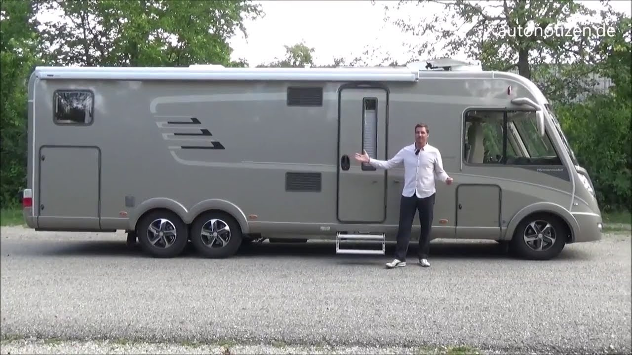 hymer wohnmobil b778 premiumline im test review fahr. Black Bedroom Furniture Sets. Home Design Ideas