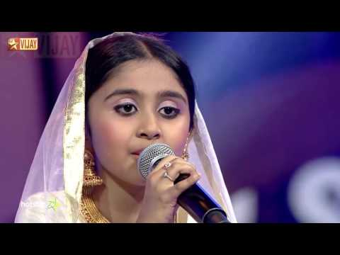 Super Singer Junior - Kannaalanae by Pallavi