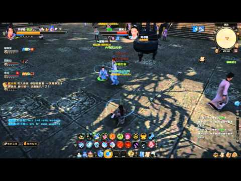 Age of Wulin (Wushu): PVP gameplay.