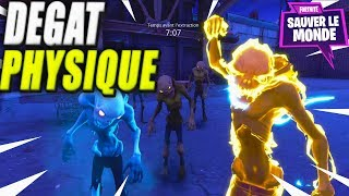 The Physical Damage What is it? Fortnite Saving the World