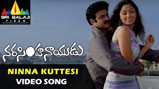 Narasimha Naidu Songs | Ninna Kuttesinaadi Song | Balakrishna, Simran | Sri Balaji