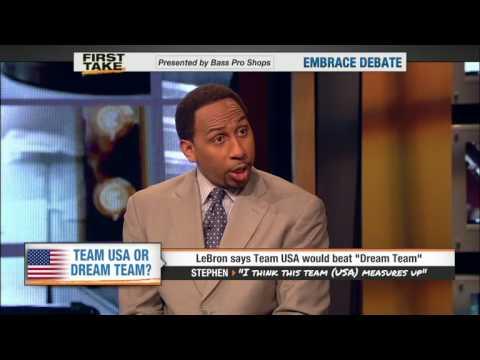 LeBron says Team USA would beat Dream Team