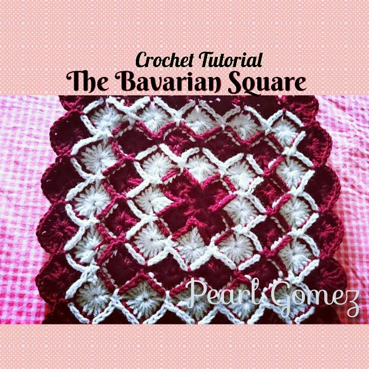 Crochet Made Easy How To Make A Bavarian Square Step By Step
