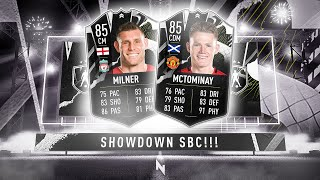 NEW MILNER & MCTOMINAY SHOWDOWN SBC! - FIFA 21 Ultimate Team