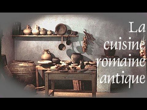 La Cuisine Romaine Antique Anteas Youtube