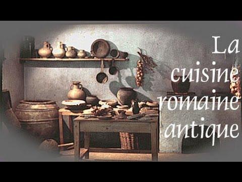 La cuisine romaine antique  ANTEAS  YouTube