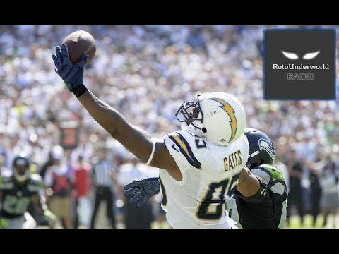 Antonio Gates and the LA Chargers are a better bet than the Kansas City Chiefs in 2017