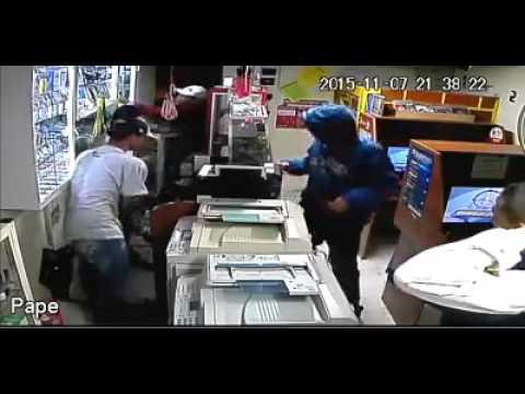 En video quedó registrado robo a un café internet en Bello, Antioquia