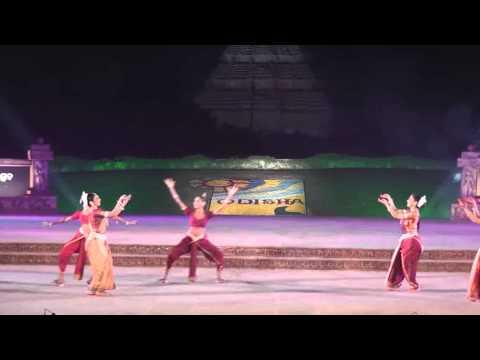 """Nrityagram. """"Samhara"""". Konark Festival 2012."""