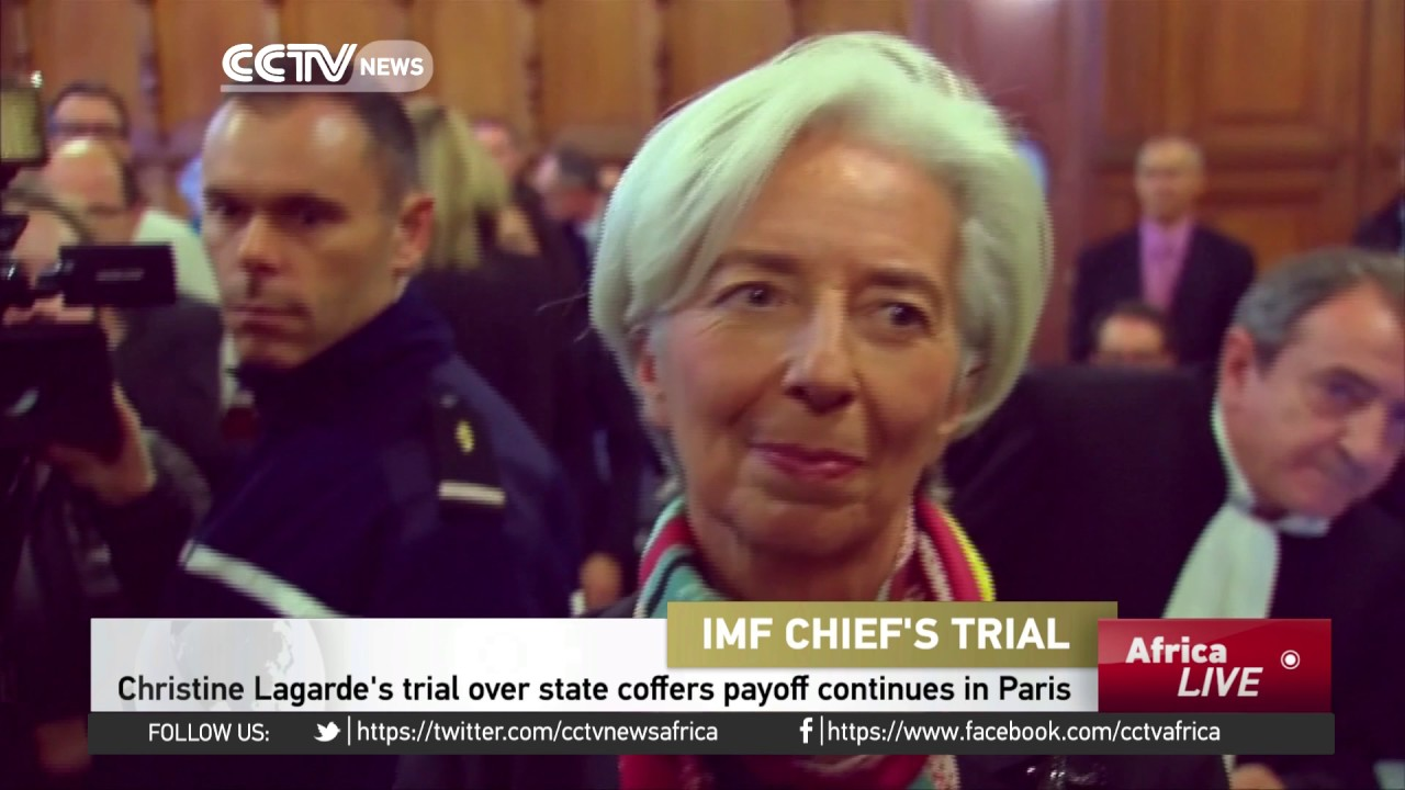 Christine Lagarde's trial over state coffers payoff continues in Paris