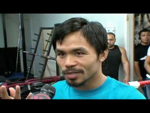 Best interview of Manny Pacquiao 2009 - Sports Soup Mayweather