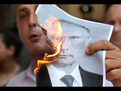 Грузинский Журналист Габуния Жестко Оскорбил Путина! Правда О Президенте РФ.
