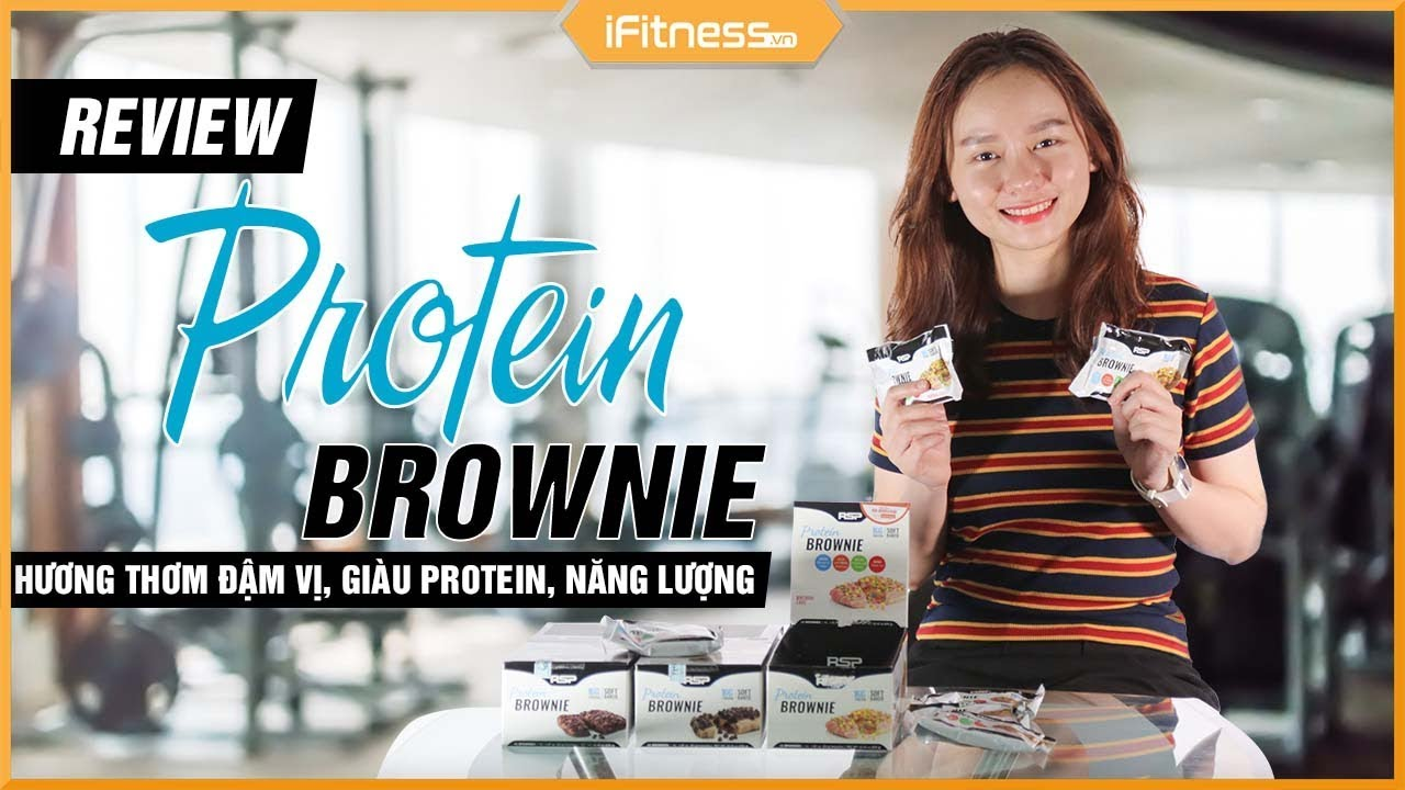 Đánh giá bánh RSP Nutrition Protein Brownies – Chất lượng hàng đầu | iFitness.vn