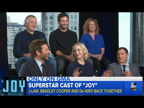 Superstar Cast of 'Joy' Hype Upcoming Release