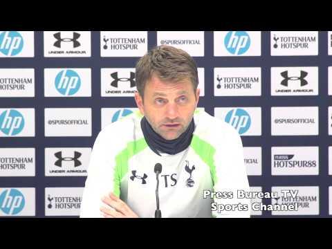 Tim Sherwood pre Tottenham vs Manchester City