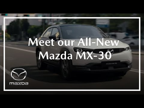Mazda MX-30 – their first Battery Electric vehicle