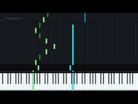 Estudo de Composicão No1 by Alexandre Leite [Piano Tutorial + Sheet music] thumbnail