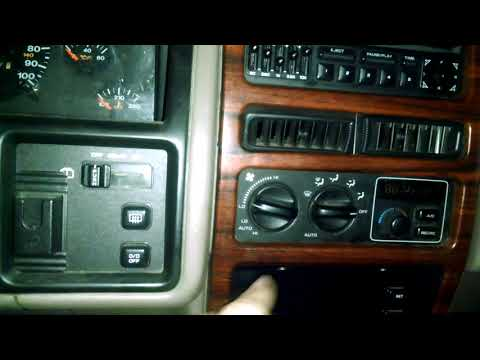 Jeep Grand Cherokee Electrical Issues (No Heat/ac)