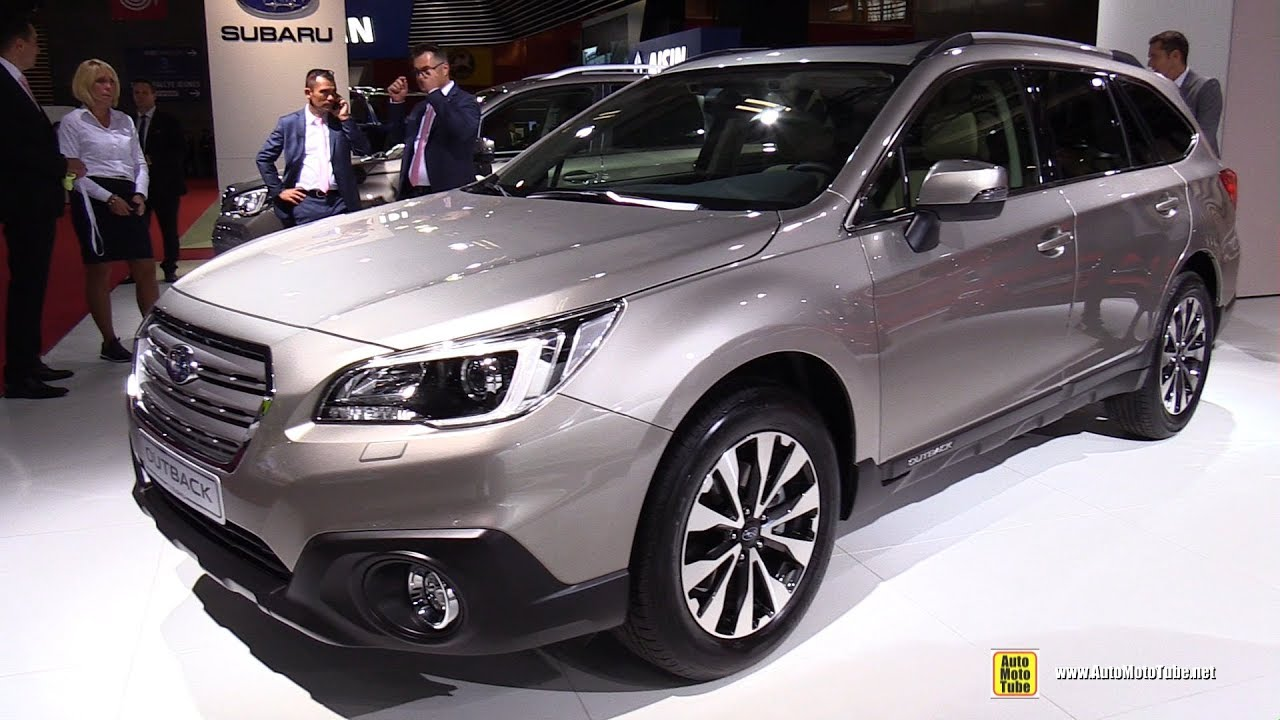 2017 subaru outback 2.5i exclusive - exterior and interior