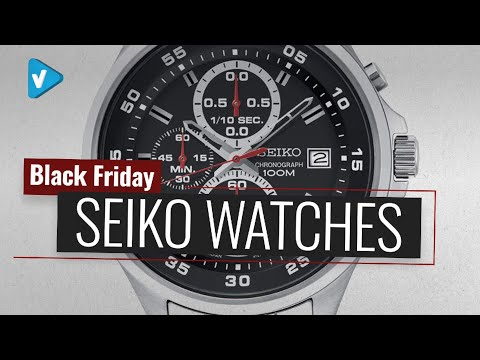 Up To 55% Off Seiko Watches Now On Amazon UK Cyber Monday 2019 Deals