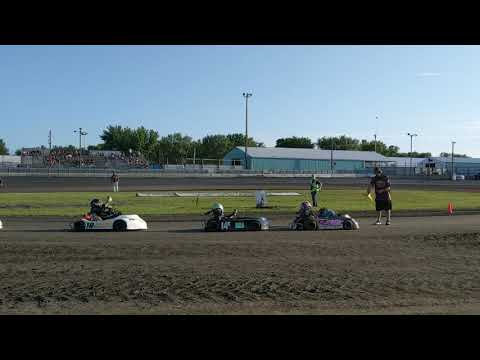 Aug 3 Stock A Feature - Arlington Raceway
