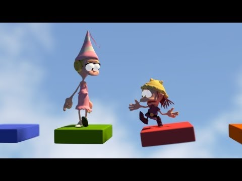 Blender animation : Game Over Comic caracter