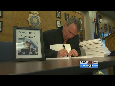 Retired SWAT officer stops presses to include fallen Omaha hero in book.