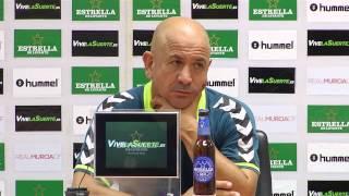 Claudio Barragán tras Murcia-Cádiz de Copa (02-09-15)
