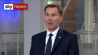 Hunt admits no-deal Brexit is 'scary'