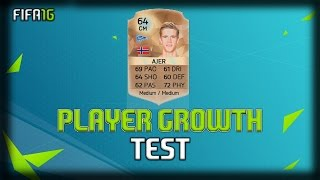 FIFA 16   Kristoffer Ajer   Growth Test + Gameplay