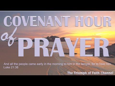 Covenant Hour of Prayer #CHOP  November 22,  2017