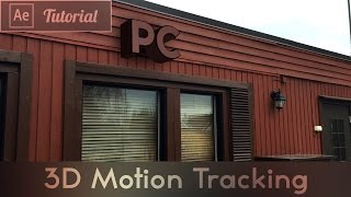 3D Motion Tracking - After Effects CC Tu...