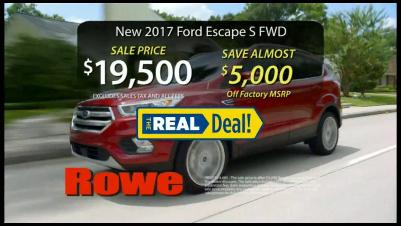 Best Ford Escape Deal Westbrook Maine 2017 Portland Me