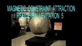 """Antigravity"" Method 5 of 15, Magnetic Mechanical Constraint-Repulsion or Attraction, Group IIA(i)"