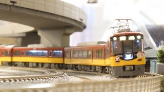 【Nゲージ】京阪8000系 走行動画