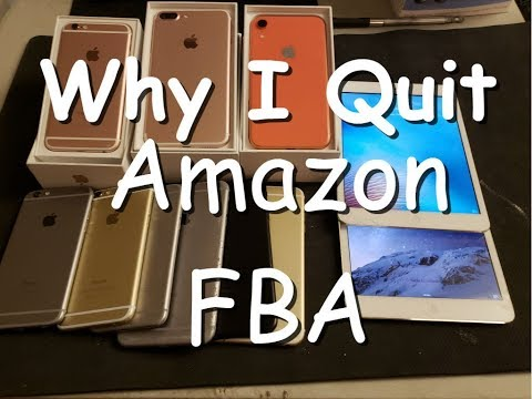 Why I Quit Amazon FBA in 2019 ! More profits with much less work.
