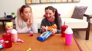 Spiderman vs Frozen Elsa CHAIR PRANK AT SCHOOL w/ Anna Joker Pretend Play in Real Life Family Funny